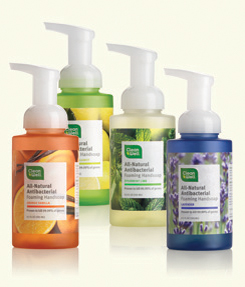 cleanwell natural anti-bacterial soap